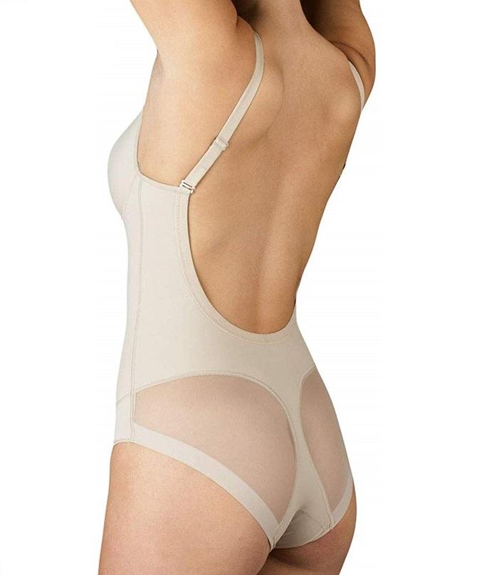 Body para vestidos sin espalda ajustados